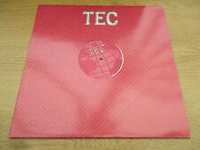 "Baby Doc  –  Yum Yum  VINYL 12"" 45RPM UK 1996 Progressive Trance  TeC - TEC 007"