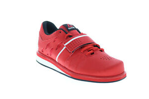 Reebok Lifter PR BD1608 Mens Red Synthetic Athletic Weightlifting Shoes