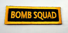 P3 Bomb Squad Iron on Patch Military Army Biker Special Forces Gamer
