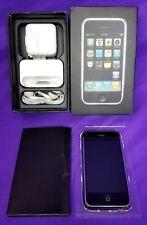 Apple iPhone 1st Generation 2G, 8GB, Black, Model A1203 w/ Original Box & Accys