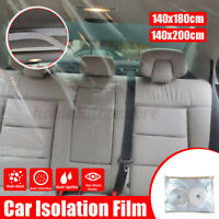 1.8/2M Car Taxi Isolation Film Plastic Anti-Fog Full Driver Protective Cover Net