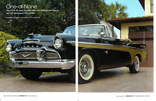 1956 DE SOTO FIREFLITE ~  NICE 6-PAGE ARTICLE / AD