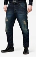 G-Star Type C 3D Loose Tapered Jeans Dark Aged Mens Size UK W30 L34 *REF39-26