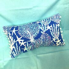 Sale! New throw pillow made with LILLY PULITZER Good Reef fabric