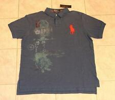 Polo Ralph Lauren Custom-Fit Big Pony Japan Style Pique Shirt NEW $125 Mens XL
