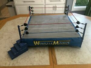 WRESTLEMANIA 17 X-SEVEN SCALE RING SKIRT APRON JAKKS ACTION FIGURE ACCESSORY WWE