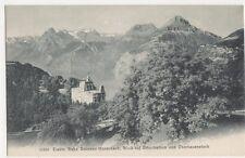 Switzerland, Elektr. Bahn Brunnen-Morschach, Urirothstock Postcard, B209
