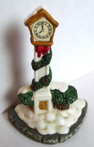 Grandeur Noel Victorian Village Town Square Clock Replacement Christmas 1995