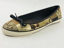 Coach Butterfly Twist Ballerina Women's Flat Casual Shoe Size US.7/EU.37.5/ UK.5