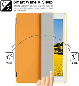 Besdata  Smart Cover Protective Case + Back Cover for Apple iPad Air 2 (6)