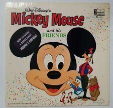 Walt Disney Mickey Mouse & His Friends Vinyl Record LP 1968 Disneyland DQ-1321