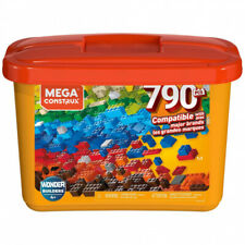Mattel Mega Construx Wonder Builders 790 Piece Tub Multicoloured