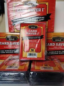 Cardboard Gold PSA Grade Card Saver 1 - 50 Ct - New Sealed🔥🔥