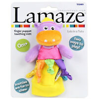 Lamaze Teething Mitt Lulu In A Tutu Finger Puppet Newborn Baby Teether Toy Gift