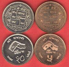 Nepal Visit Nepal 2 coin set Special -BU
