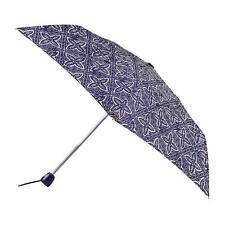 totes Auto Open/Close Thin Navy Batik Umbrella (3 Section)