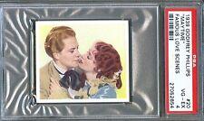 1939 Famous Love Scenes Card #20 Maytime NELSON EDDY Jeanette MacDonald PSA 4
