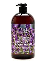 Lavender Body Wash with Natural Dead Sea Minerals 1000 ml