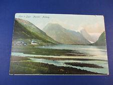 Alps In Sogn. Mundal Norway Vintage Colorful Postcard Unused Pc14