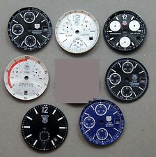 Lot of 7 Tag Heuer chronograph dials LINK CHRONO CHRONOMETER DIALS
