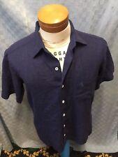 """COUNTESS MARA LINEN BLEND SHORT Sleeve Shirt SIZE SMALL  CHEST 42"""""""