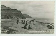 East Beach & Golden Cap Charmouth Dearden & Wade 1144 RP Postcard, C080