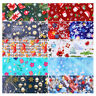 10 Pcs Nail Transfer Foil Colorful Halloween Christmas Nail Decals DIY Nail Art