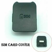 Black Sim Card Cover GH98 35066A Replace Part For Samsung Galaxy Gear S SM-R750