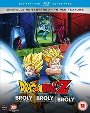 Dragon Ball Z Movie Collection Five: The Broly Trilogy (with DVD - Double Play