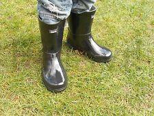 Gummistiefel Regenstiefel Mädchen Gr. 31-35 Schwarz Kinderstiefel Stiefel NEU!!