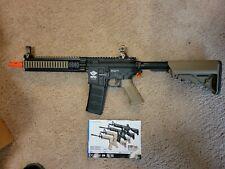 CM16 raider/ -L DST Tan/Black AEG (electric) Airsoft gun