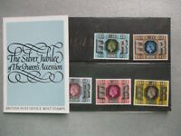 SILVER JUBILEE of QEII 1977 GB STAMP PRESENTATION PACK 11th May 1977 Number 94