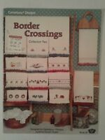 Canterbury Designs Border Crossings Towel Designs  # 2 Counted Cross Stitch