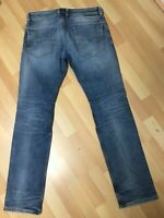 NWD Mens Diesel SAFADO STRETCH Denim 0853I DARK Blue SLIM W30 L32 H7.5 RRP£120