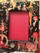 """""""BARBIE DECOUPAGE PICTURE FRAME"""" 35 Th ANNIV. CONVENTION-1994 LIMITED EDITION"""