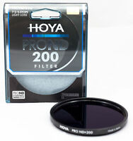 Hoya PROND 82mm ND200 (2.4) 7.67 Stop ACCU-ND Neutral Density Filter XPD-82ND200