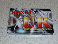 MAXELL AUDIO TAPE UR 90 / NEU // Kassette / MC / TAPE