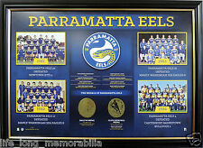 PARRAMATTA EELS PREMIERSHIP YEARS HISTORICAL SERIES LTD ED COA NRL ENDORSED