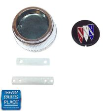 1968-70 Buick Center Cap W/ Tri-Shield & Retainers - Each - 3185 S