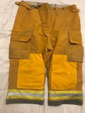 Globe Firefighter Turnout Gear Bunker Turnout Pants w/ Liner 44 x 22 SHORT