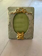 vintage small picture frame with a fox