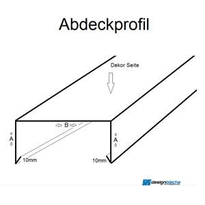 200 cm Mauerabdeckung Attikablech Mauerschutz (Verbinder Endstück EXTRA KAUFEN)