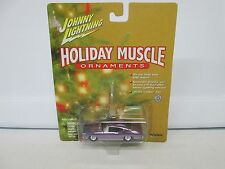 Johnny Lightning Holiday Muscle Ornaments 1968 Chevy Chevelle