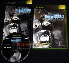 PROJECT ZERO 1 Xbox Versione Ufficiale Italiana ○○○○○ COMPLETO