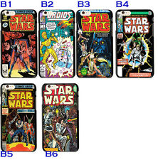 Vintage Marvel Comics Star Wars Case Cover For iphone 6 6S 7 Plus 5S Galaxy S7
