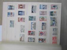 timbres France neufs 1965 à 1974  **  LUXE   YT1436 à YT1808 sans manque