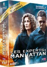 Les experts Manhattan saison 5 intégrale COFFRET DVD NEUF SOUS BLISTER