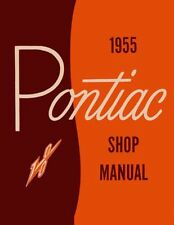1955 Pontiac Shop Service Repair Manual Book Engine Drivetrain Electrical Guide