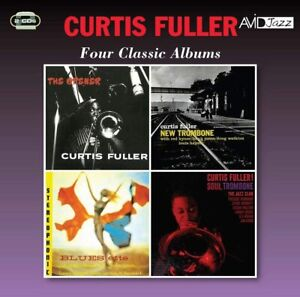 Curtis Fuller Four Classic Albums 2-CD NEW 2018 Remastered Jazz