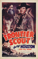 Frontier Scout (1938) George Houston Western Cult movie poster print 2